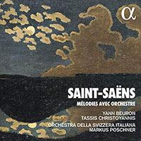 Mélodies avec orchestre - Camille Saint-Saëns